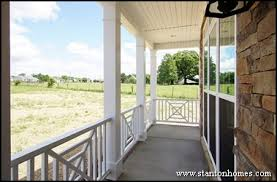 Front Porch Banisters Types Of Porch Railing New Home Exterior Ideas