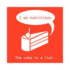 The Cake Is A Lie Meme - memes polyvore