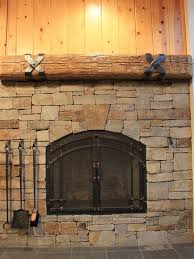 Arched Fireplace Doors by Hand Forged Fireplace Doors
