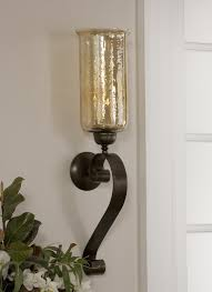 Nickel Candle Wall Sconce Uttermost Wall Sconces 22486 Campania 1 Light Sconce In Brushed