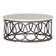 Mesh Patio Table by Coffee Table Gleam Long White Marble Chrome Modern Coffee Table
