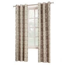 Linen Valance Calico Pattern Linen Window Curtain Panel At Home At Home