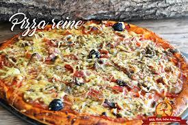 cuisiner une pizza recette de la pizza reine petits plats entre amis