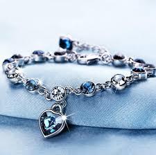 crystal bracelet swarovski images 2018 austrian crystal full diamond shinning bracelet birthstone jpg