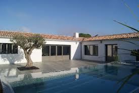 location chambre ile de location ile de ré superbe villa neuve 6 chambres piscine