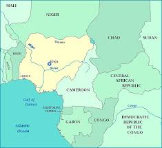 map of nigeria africa the 25 best nigeria map ideas on nigeria country