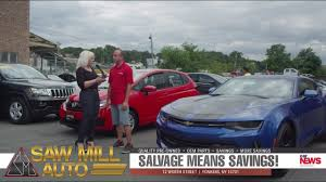yonkers lexus dealer salvage means savings 2017 chevy camaro u0026 honda fit at saw mill