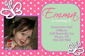 birthday invites example design photo birthday invitations
