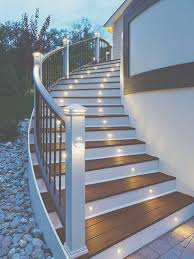 elegant exterior stairwell decoration for your home exterior
