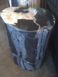 petrified wood tables stools jaya furniture