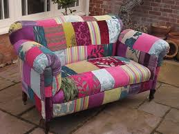 sofa patchwork handmade velvet patchwork sofa antique edwardian drop end 2