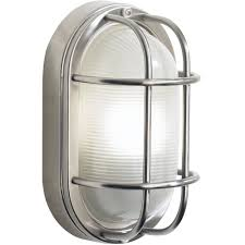 dar lighting salcombe large oval stainless steel outdoor wall