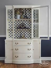 my passion for decor vintage china cabinet makeover off white