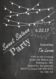 sweet sixteen 16 party invitation new selections fall 2017