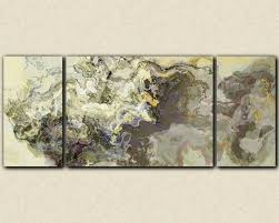 Oversized Wall Art by Very Large Wall Art Triptych Abstract Canvas Print Beige And Warm