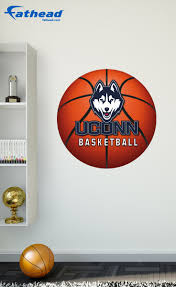 our uconn huskies basketball logo fathead wall decal is perfect our uconn huskies basketball logo fathead wall decal is perfect for a birthday graduation