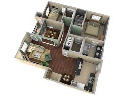 2 Bedroom House Floor Plan 25 Two Bedroom House Apartment Floor Plans