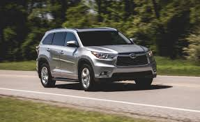 suv toyota 2015 2014 toyota highlander hybrid awd u2013 review u2013 car and driver