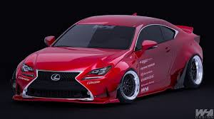 lexus is rocket bunny artstation lexus rc 350 f sport rocket bunny wahyu lancer