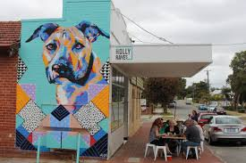 mural archives the chef his wife and their perthfect life though newbie holly raye s is tucked down an unassuming bassendean side street you won t be able to miss it with the stunning dog mural by my favourite