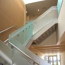 Glass Banister Staircase Glass Railings Glass Service Residential Commercial U0026 Custom
