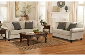 Living Room Sleeper Sets Milari Linen 2 Pc Living Room Set W Sleeper Home Elegance Usa
