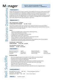 operations manager resume template operations manager resume template vasgroup co