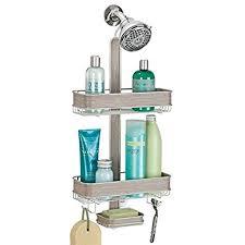 doccia facile mdesign scaffale da appendere in doccia organizer doccia con tre