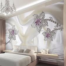 damask home decor custom 3d stereo mural wallpaper roll high quality simple damask