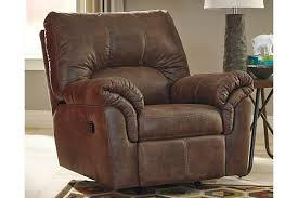 magnificent brown leather recliner chair living room the gather