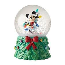 disney minnie mouse with lights snow globe department 56