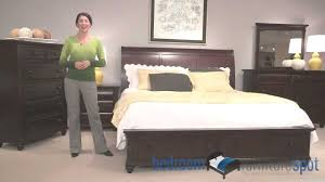 broyhill bedroom set broyhill farnsworth bedroom collection youtube