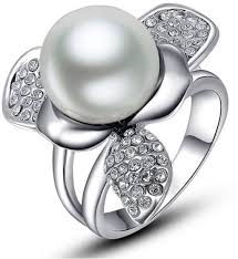 pearl rings prices images Pearl rings buy pearl rings online at best prices in india jpeg