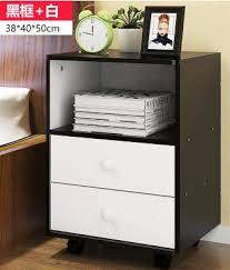 38 40 50cm modern wood bedside table folding bedroom font b storage b font font b jpg