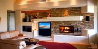 custom media wall u0026 home entertainment center design u2022 dagr design