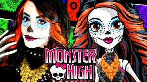 Halloween Costumes Monster High by Monster High Skelita Calaveras Makeup Tutorial Rosaliesaysrawr