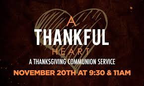 thanksgiving communion service oak ridge baptist church