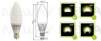 e17 led light bulb 5w e17 led christmas light bulb 5 watt smd led candle christmas