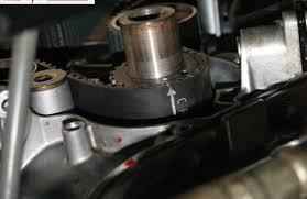 lexus lx 570 engine timing just did timing belt engine sounds kinda like a diesel please help