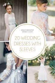 Stylish Wedding Dresses 20 Stylish Wedding Dresses With Sleeves From Etsy Southbound Bride