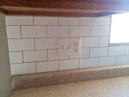 white subway tile temporary backsplash the full tutorial white