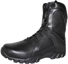 bates 7008 b mens 8 inch strike side zip waterproof tactical boot