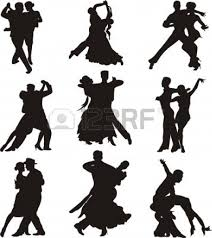 a couple dancing tango cartoon clipart vector toons dance silhouettes decoupage pinterest dance silhouette
