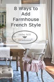 What Is My Decorating Style Called Cedar Hill Farmhouse Updated Country French