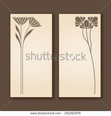 Art Deco Design Elements Vector Art Nouveau Floral Elements Print Stock Vector 552523024