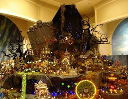 lemax halloween houses images of halloween village displays best fashion trends and models