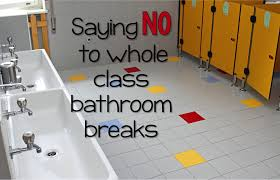 Bathroom Group Saying No To Whole Group Bathroom Breaks Mrs Pauley U0027s Kindergarten
