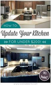 Inexpensive Kitchen Countertops by Best 25 Cheap Kitchen Makeover Ideas On Pinterest Cheap Kitchen