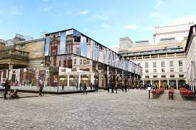 covent garden family law new art in covent garden 32 000 square feet of mirror to fill