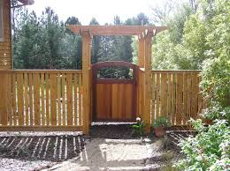 i made the fence from rough cedar boards that i planed down to a